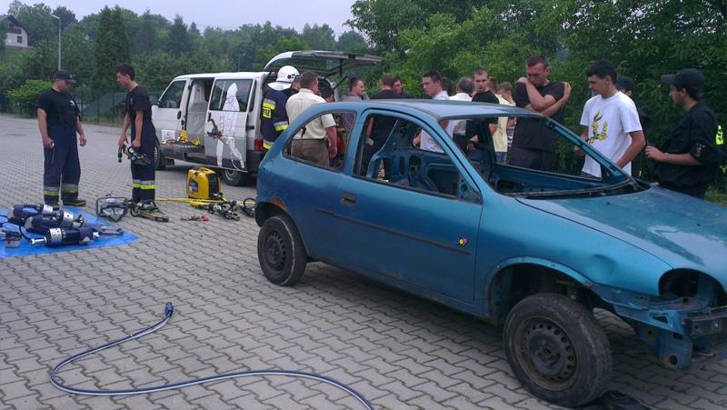 Pokaz sprzętu hydraulicznego