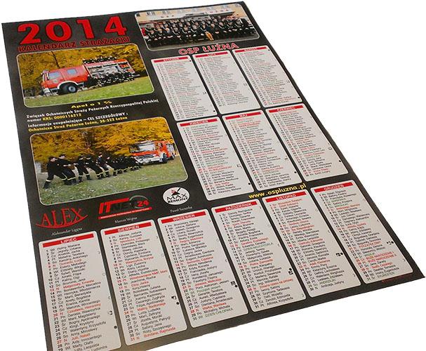 Kalendarze Strażackie na 2014 rok