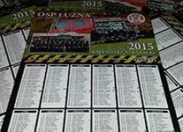 Kalendarze strażackie na rok 2015